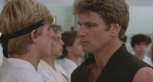 While earning his managing credentials, Jurgen Klinsmann attended the John Kreese School of Sports Psychology